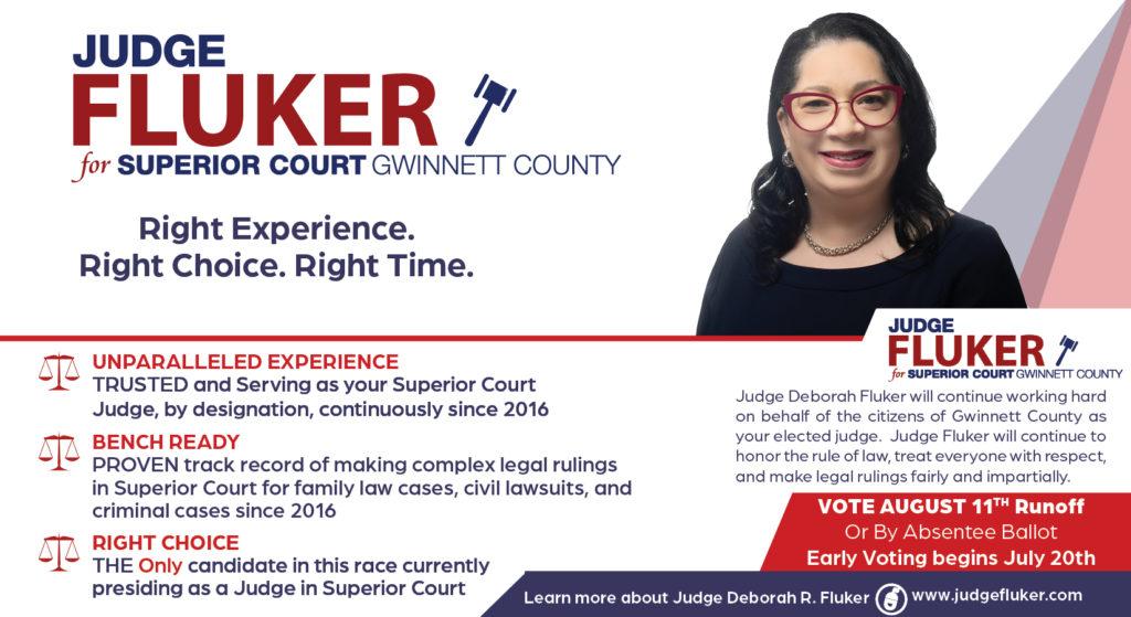 direct mail judge fluker